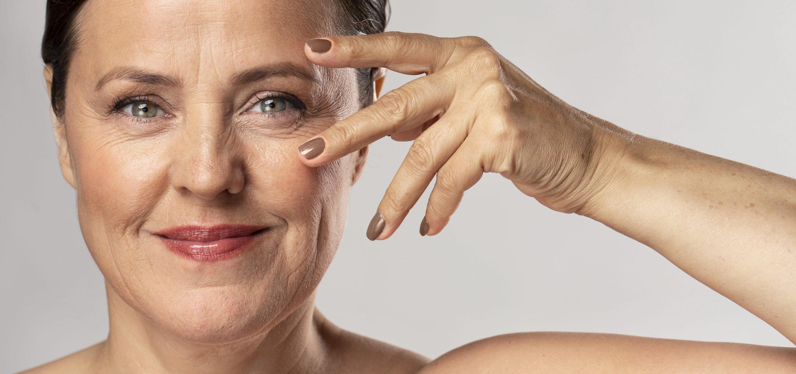 Ráncos bőr sminkelése tippek online smink tanfolyam